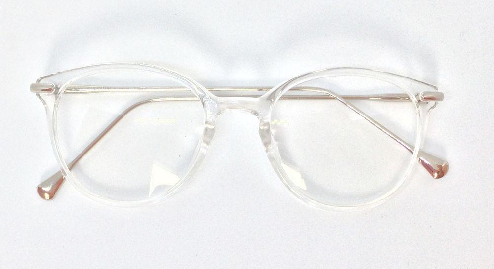 f86e1d37ec668 Armação Com Haste De Metal Para Óculos De Grau- Transparente - R  64 ...