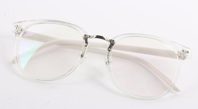b3e4adde02b3d Armação Com Ponte De Metal Para Óculos De Grau- Transparente - R  54 ...