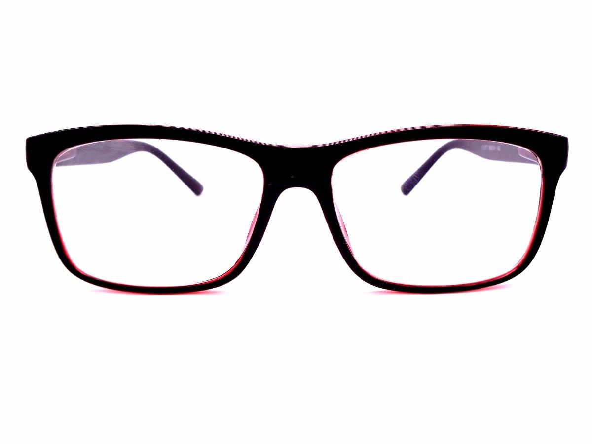 armação cores unissex óculos com lentes sem grau ótica 51077. Carregando  zoom. 4af683ba25