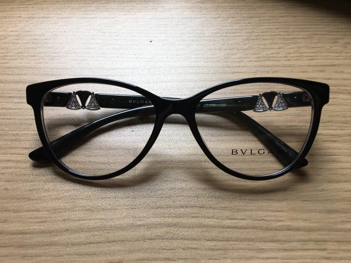 e1139d1f4b569 armação de acetato para óculos de grau bvlgari original. Carregando zoom.