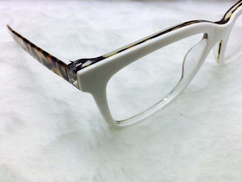 b61935afe0d26 Armação De Grau Branco Em Acetato Oculos Luxo - Resistente - R  120 ...