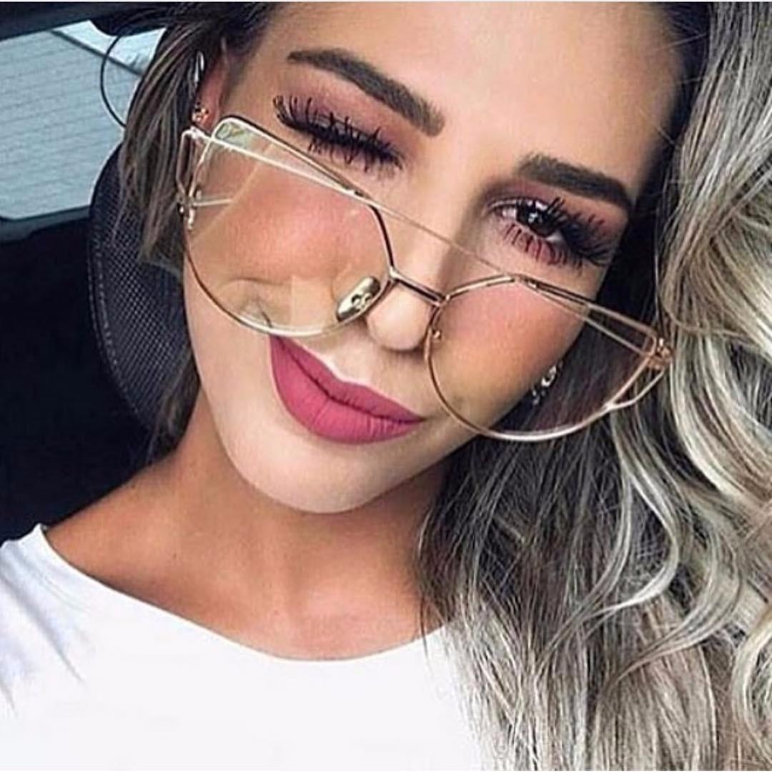 a099e0dc2fd85 Oculos Feminino De Grau Para Rosto Redondo - Shabooms