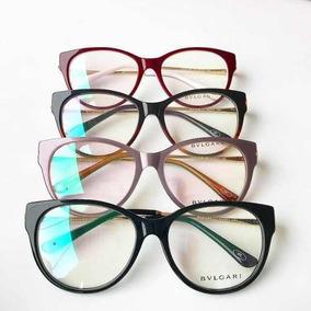 570e4a865 Bulgari Oculos De Grau Gatinha - Óculos no Mercado Livre Brasil