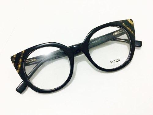 578b16c54fc5a Armação De Grau Oculos Em Acetato Fendi Gatinho Envio Rapido - R ...