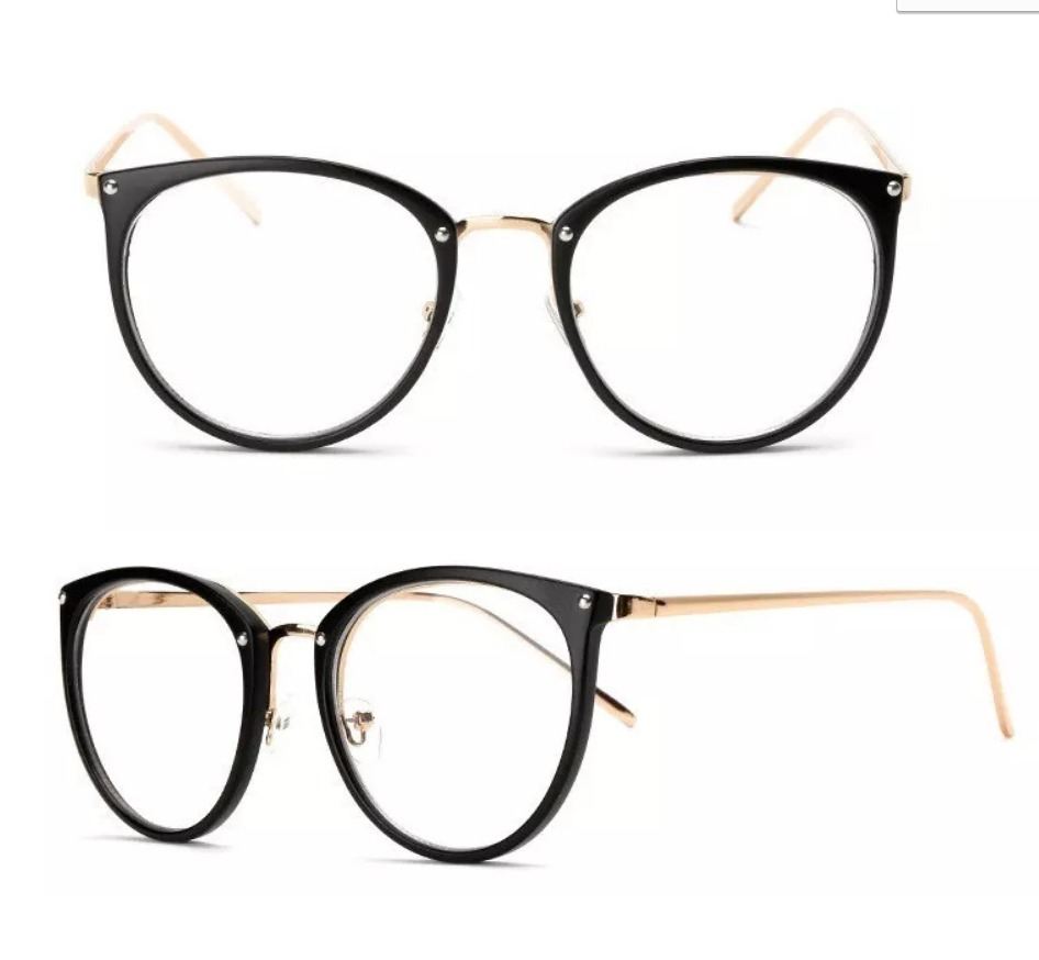 armação de grau oculos feminino barato retrô vintage geek. Carregando zoom. 8ea7fa8711