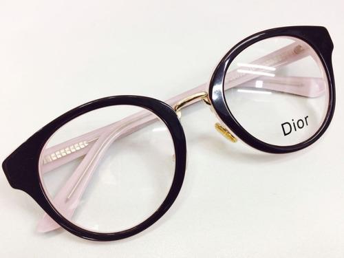 Armação De Grau Oculos Preto E Rosa Tendencia -di801 - R  134,90 em ... 5bcfa30aef
