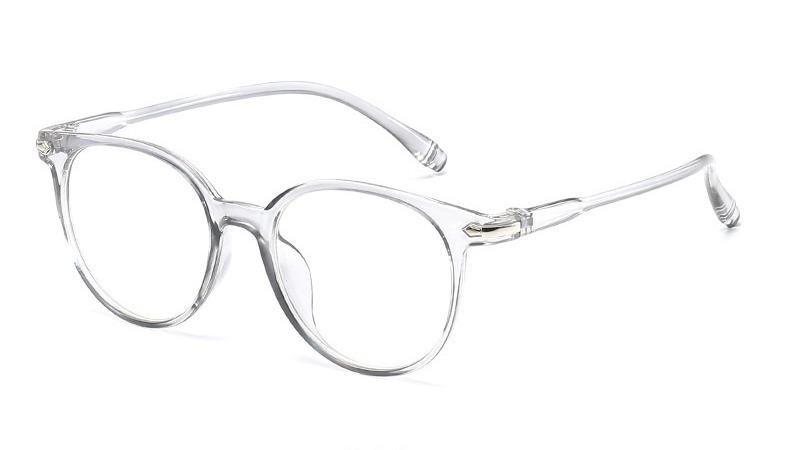 1d56b9aa4f614 Armação De Grau Óculos Quadrado Transparente Retrô Vintage - R  25,00 em  Mercado Livre