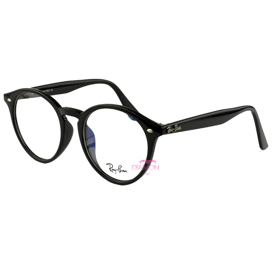 cc1a3b7aa7d66 Armação De Grau Óculos Redondo Retro Geek Rayban Vintage - R  64