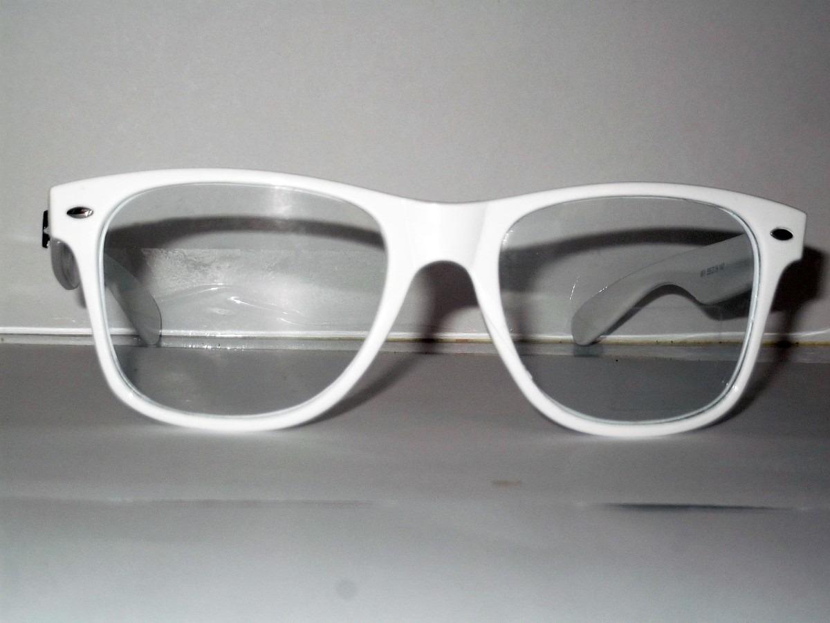 ray ban clubmaster lente transparente