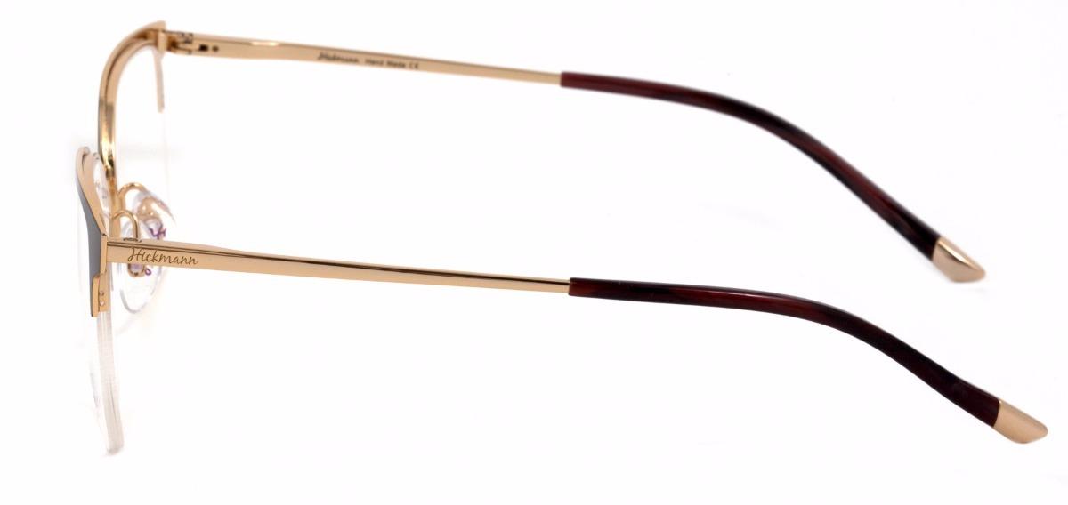 4f12dad951ca9 Armação De Óculos Ana Hickmann Hi1049 01a 51 - R  491,40 em Mercado ...