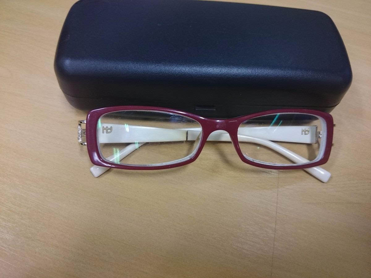 armação de óculos ana hickmann vermelho e branco original. Carregando zoom. 364efac409