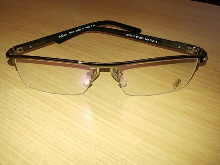 37ecd4dccbc Armação De Oculos Cartier Para Lentes De Grau - R  200