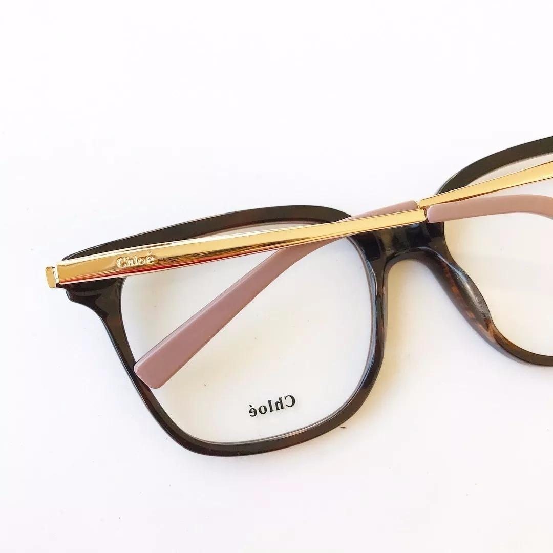 0e498bdecc61a Armação De Óculos Chloé De Grau. Feminino Importado Cor Nude - R ...