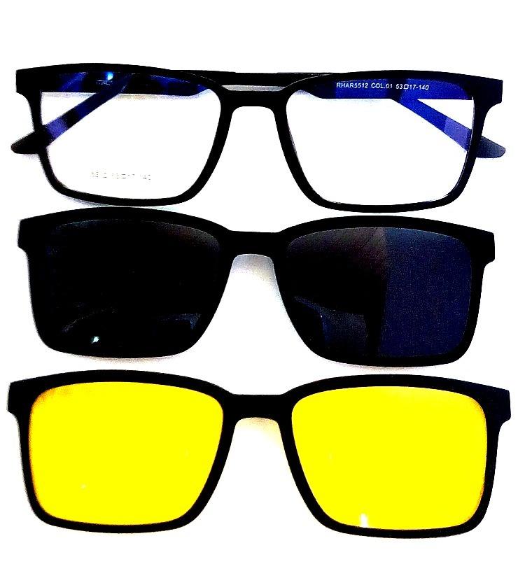 Armação De Óculos Clip On 3 Em 1   Armani - R  89,00 em Mercado Livre 77efd8d9be