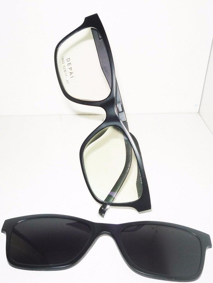 armação de óculos clip on polarizado night drive feminino. Carregando zoom. 0187c3886c