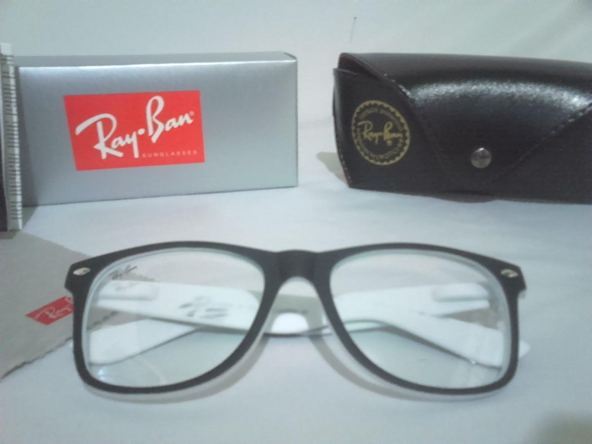 1e939e29a3b34 armação de óculos com lentes de descanso anti reflexo branca. Carregando  zoom.