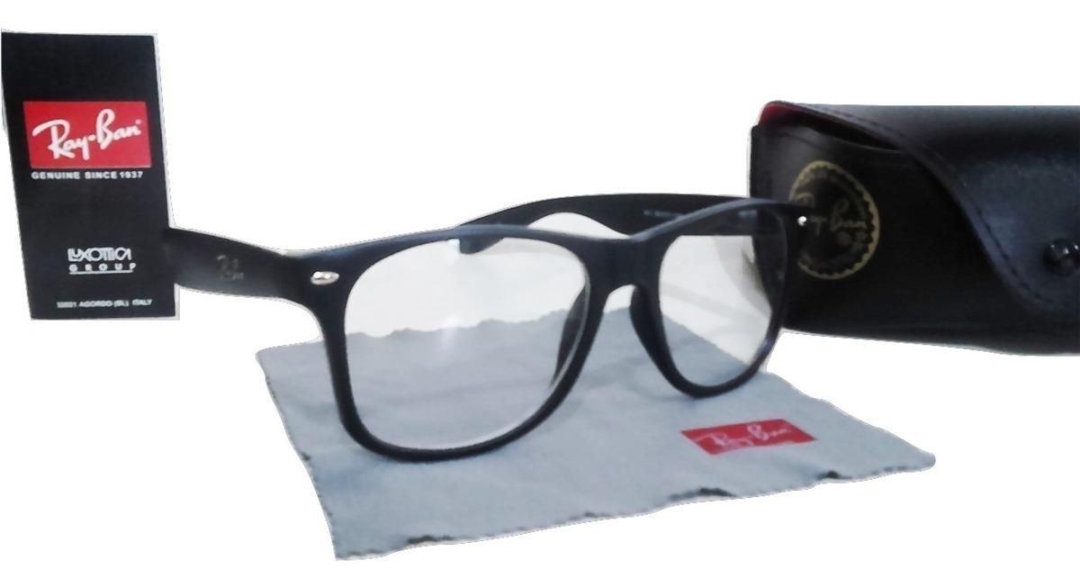 2aa35c222b7e5 armação de óculos com lentes de descanso anti reflexo preto. Carregando  zoom.