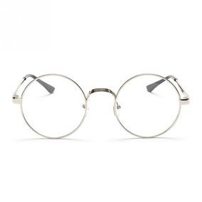 f0ae64904 Armação De Óculos D Grau Metal Redondo Masculino Feminino Bp