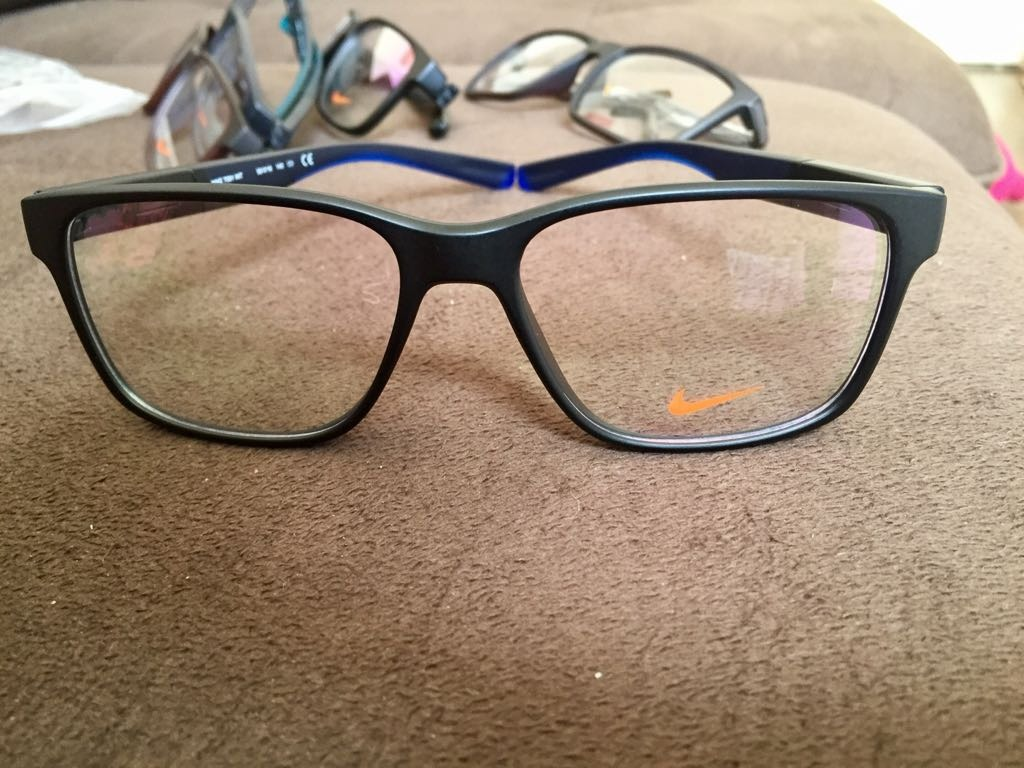 a493cce9b6b8a Armação De Óculos Da Nike 7091 - R  69,90 em Mercado Livre