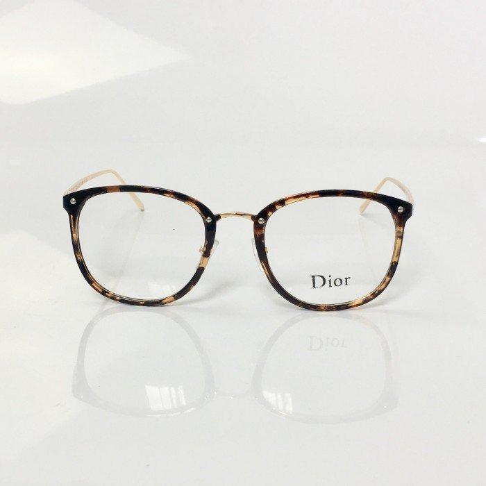 ad71921cf Armação De Oculos De Grau Dior Tartaruga Quadrado Feminino - R$ 121,90 em  Mercado Livre