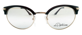21f77d4d8 Armação De Óculos De Grau Feminino Gatinho Marrom Mam005