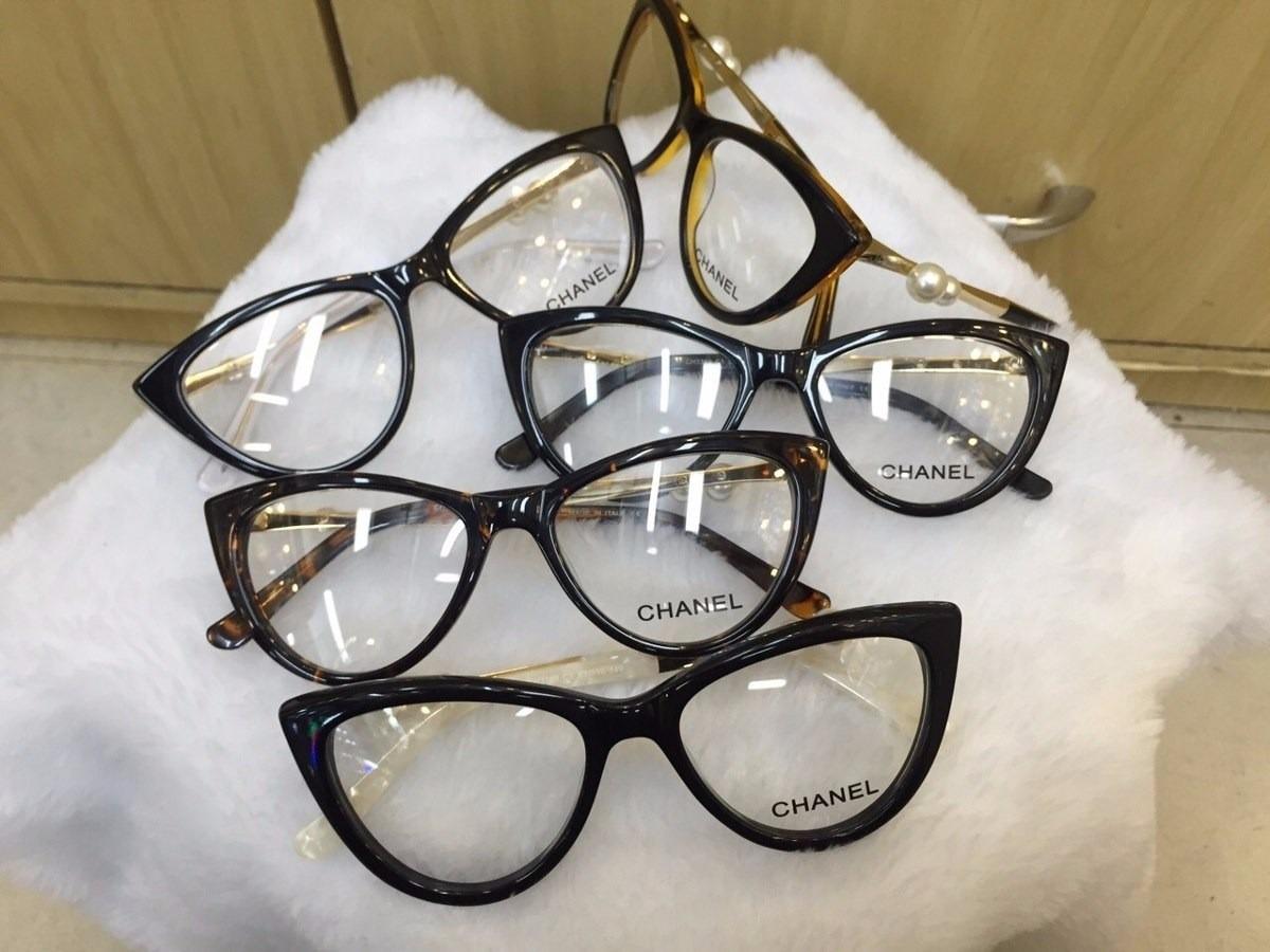 6b3970d77efb3 armação de óculos de grau gatinho c  pérola haste c  brinde. Carregando  zoom.