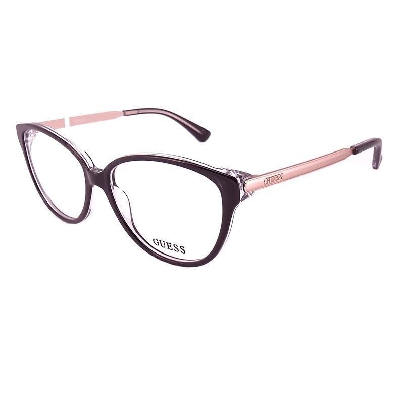 7347850d0 Armação De Óculos De Grau Guess Feminino - Gu2488 003 - R$ 443,00 em ...