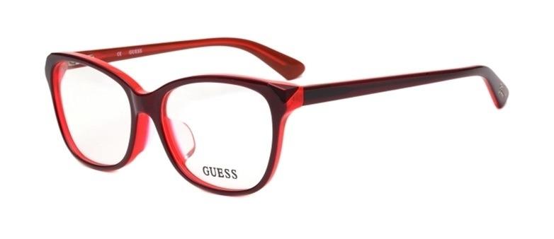5e362d2feb47a Armação De Óculos De Grau Guess Feminino - Gu2494 069 - R  483