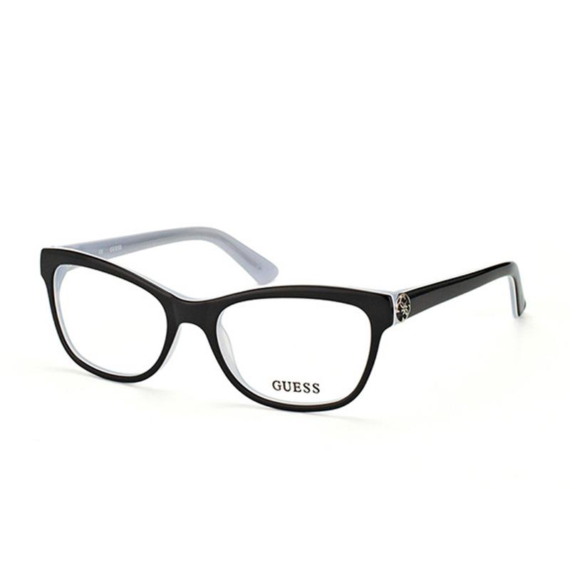 259cbd545 Armação De Óculos De Grau Guess Feminino - Gu2527 003 - R$ 396,00 em ...