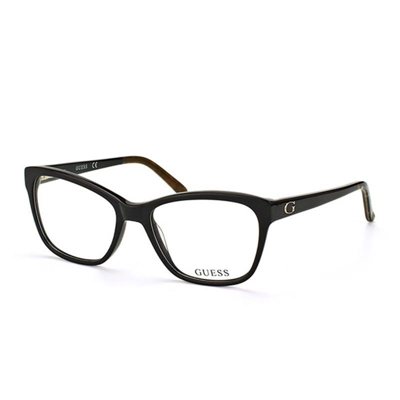 a7e1d69fa Armação De Óculos De Grau Guess Feminino - Gu2541 001 - R$ 365,00 em ...