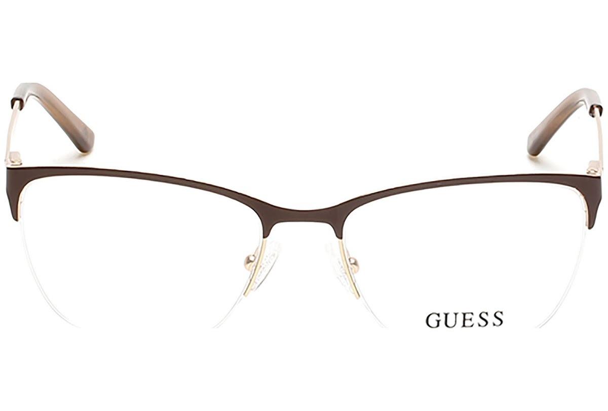 c6701db2b Armação De Óculos De Grau Guess Feminino - Gu2543 045 - R$ 325,00 em ...