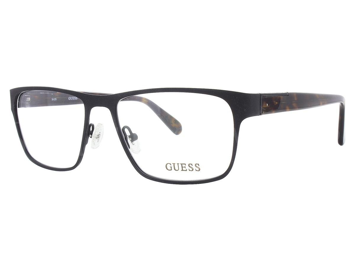 Armação De Óculos De Grau Guess Masculino - Gu1882 002 - R  420,00 em  Mercado Livre a4bcbfd91d