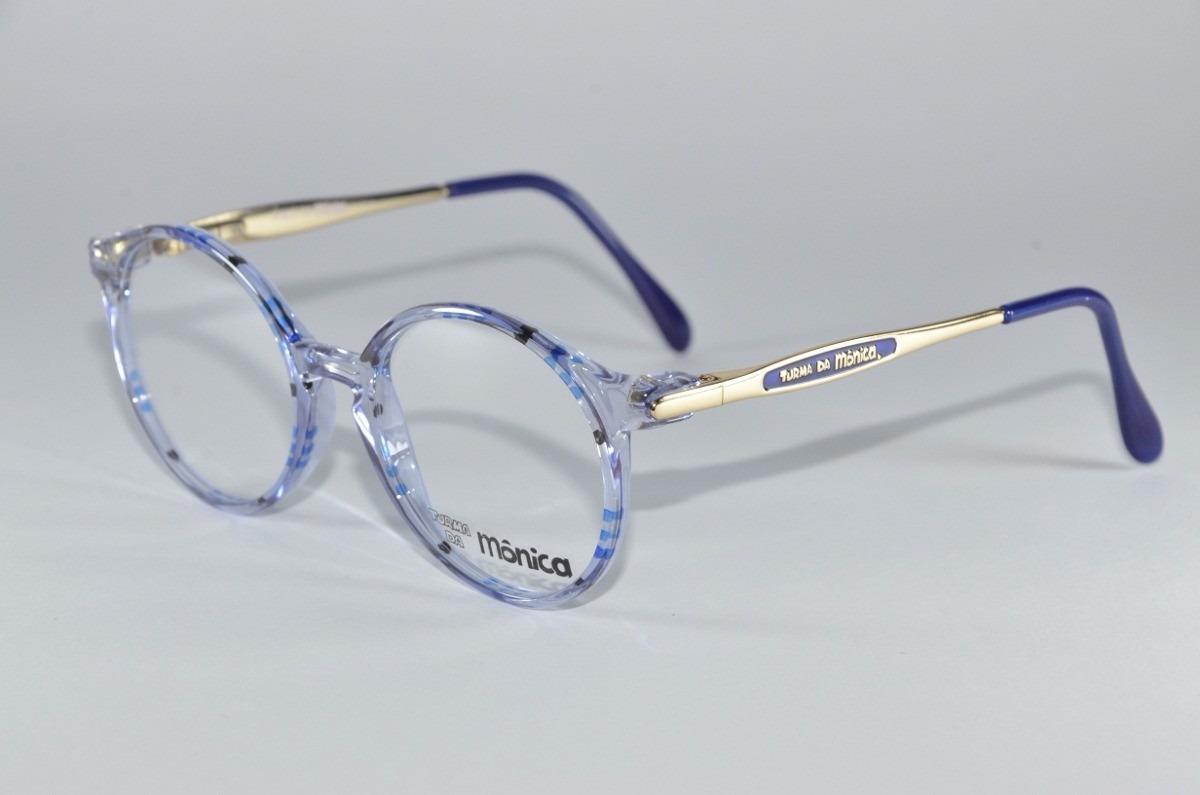 8d68eaaaa0c60 armação de oculos de grau infantil turma da monica. Carregando zoom.