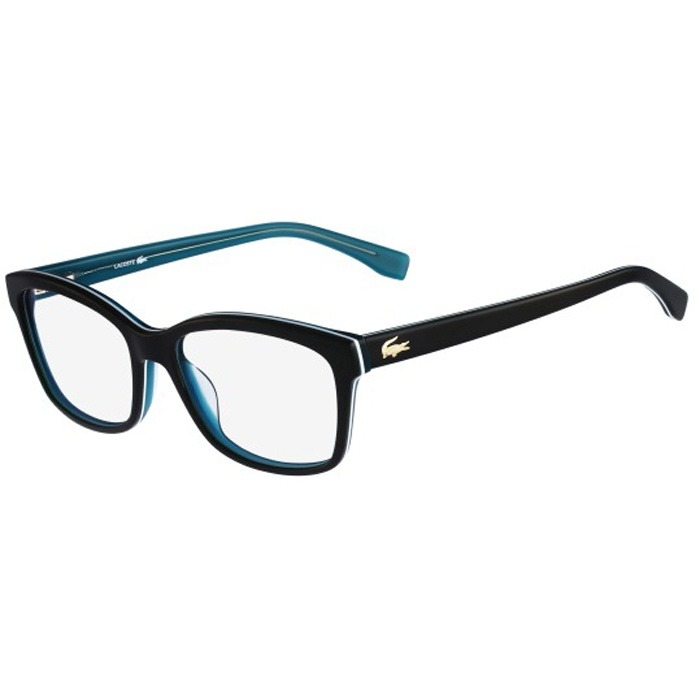 be14ffdcb2895 Armação De Óculos De Grau Lacoste Feminino - L2745 001 - R  579