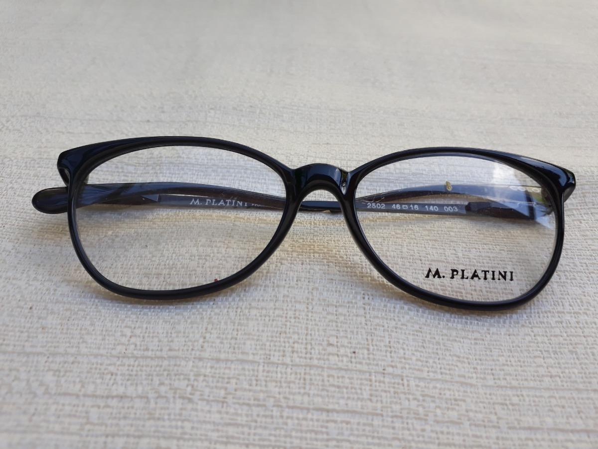 3adf1ba66 Armação De Óculos De Grau Leve Platini - R$ 62,00 em Mercado Livre