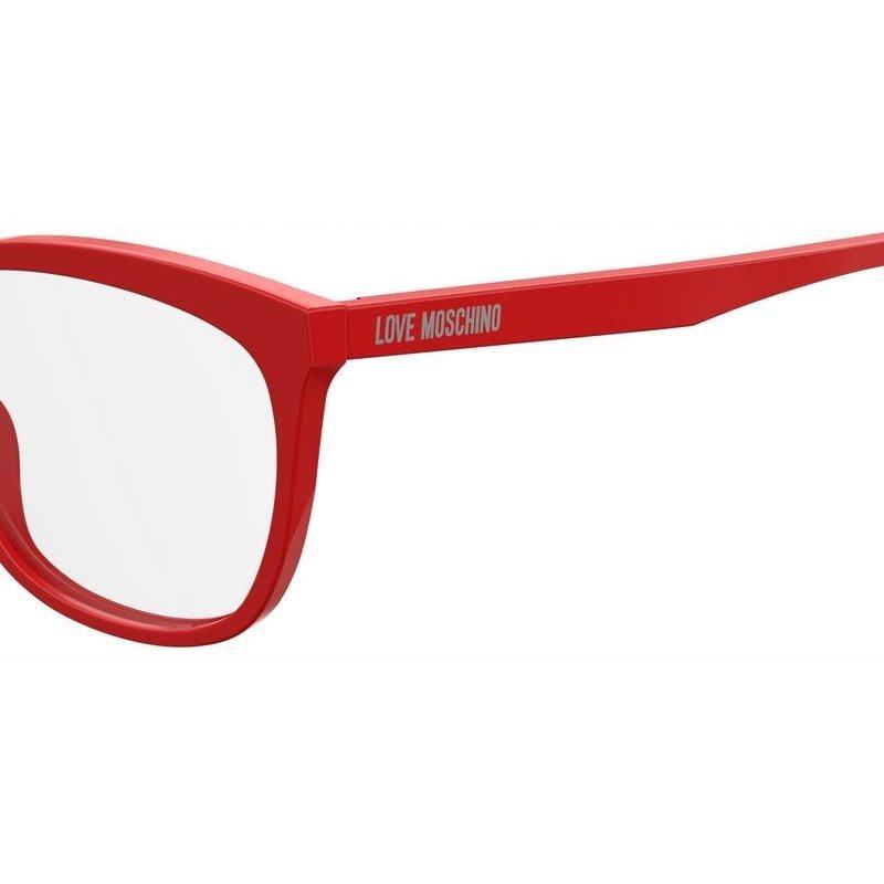 Armação De Óculos De Grau Love Moschino Feminino Mol506 C9a - R  359 ... d6e8fb2f5a