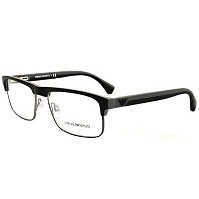 Armação De Óculos De Grau Masculino Emporio Armani Metal - R  317,38 em 246c511128