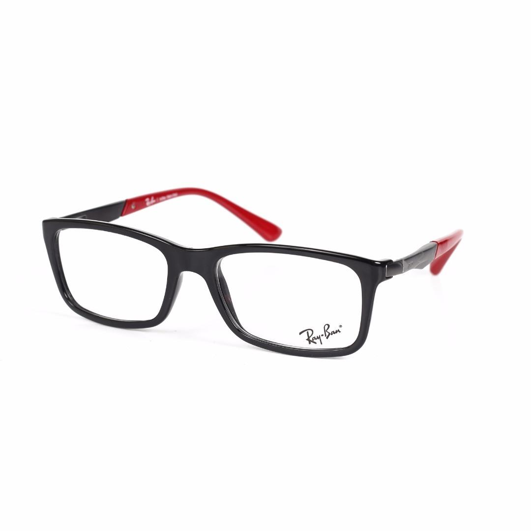 579318706 armação de óculos de grau ray-ban masculino rb7040l 5447. Carregando zoom.