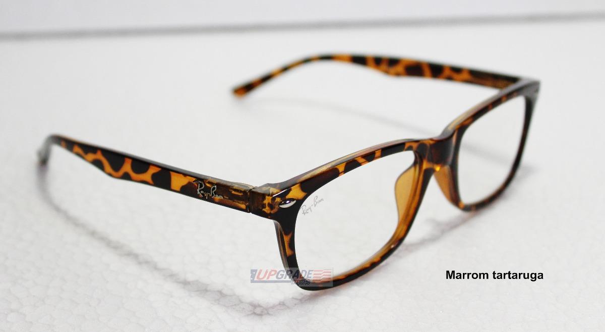 486784ab59985 armação de óculos de grau sol rayban rb 5228 sem veludo. Carregando zoom.