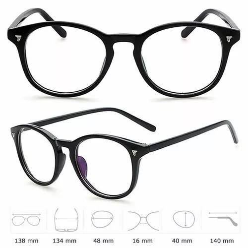 f2747089a4b47 Armação De Óculos Design Retrô Feminina E Masculino - R  79,00 em ...