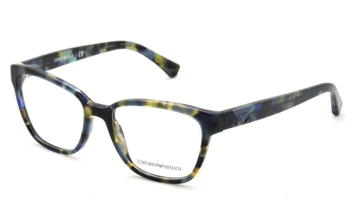 armação de óculos emporio armani ea 3094 5542 52-17 140. Carregando zoom. 2215ea3238