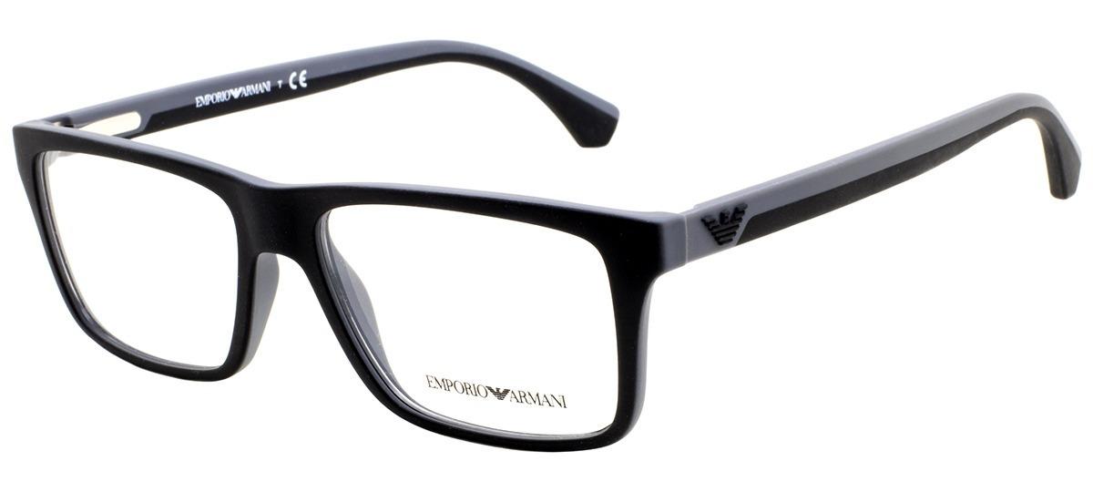 c5497aef854f1 Armação De Óculos Empório Armani Ea3034 5229 - R  384,00 em Mercado Livre