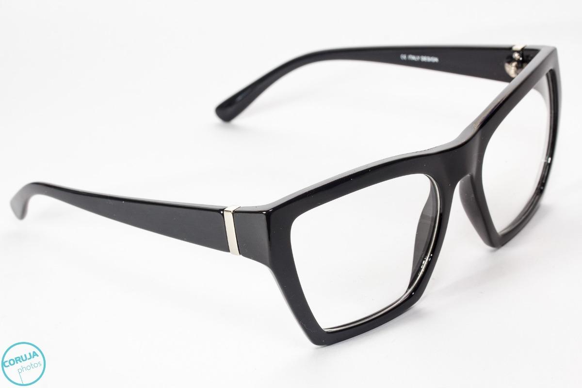 a2ef5775a armação de óculos fashion, em acetato, design italiano. Carregando zoom.