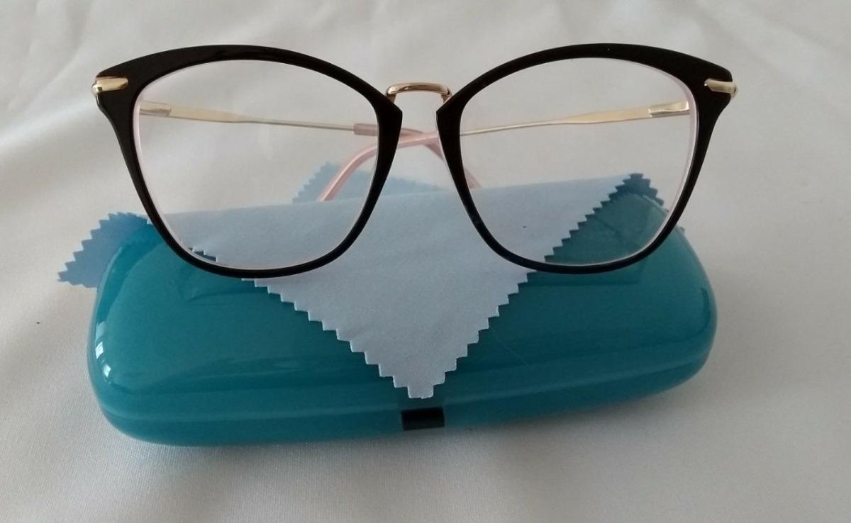 d6c49bb41 armação de óculos feminino de grau acetato promoção 2019. Carregando zoom.
