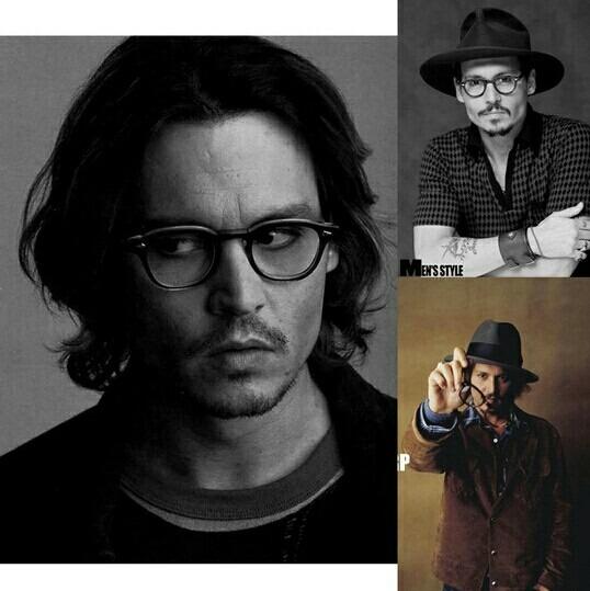 6664bee020339 Armação De Oculos Grau Estilo Johnny Depp Tortoise Acetato - R  59 ...