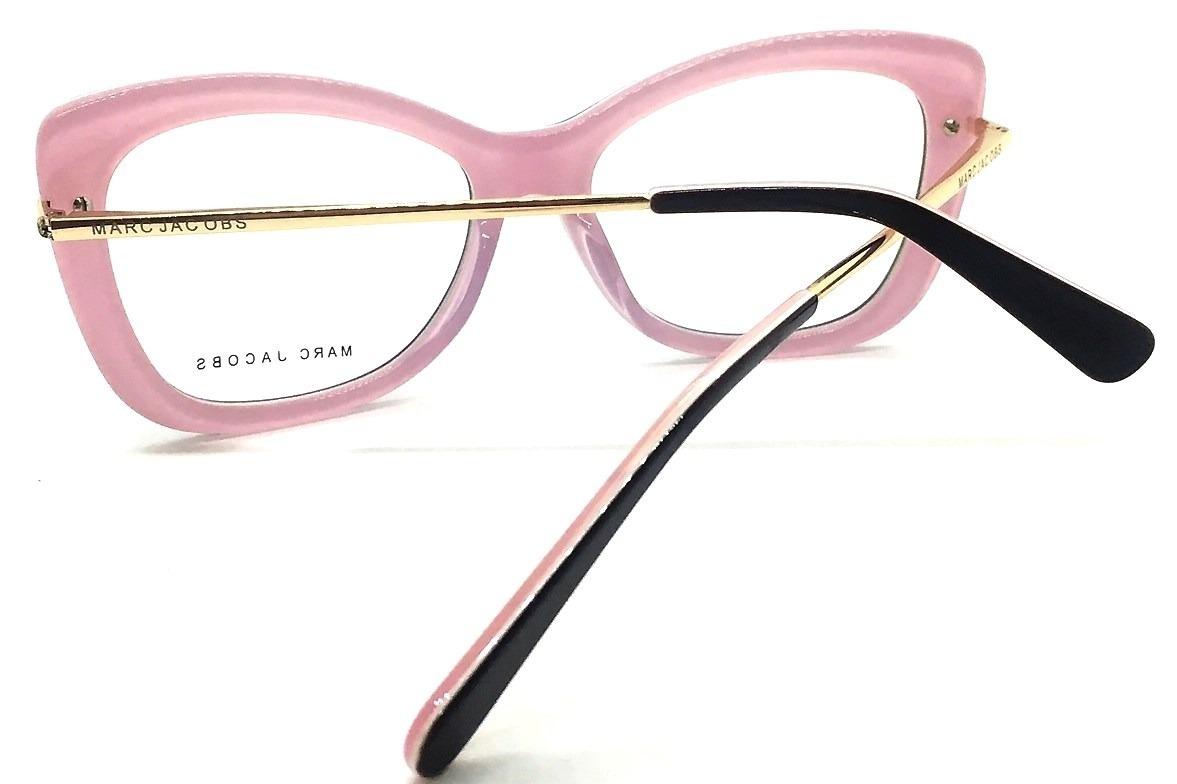d4ebefe03ca6f armação de oculos grau feminino marc jacobs mj545 grande. Carregando zoom.