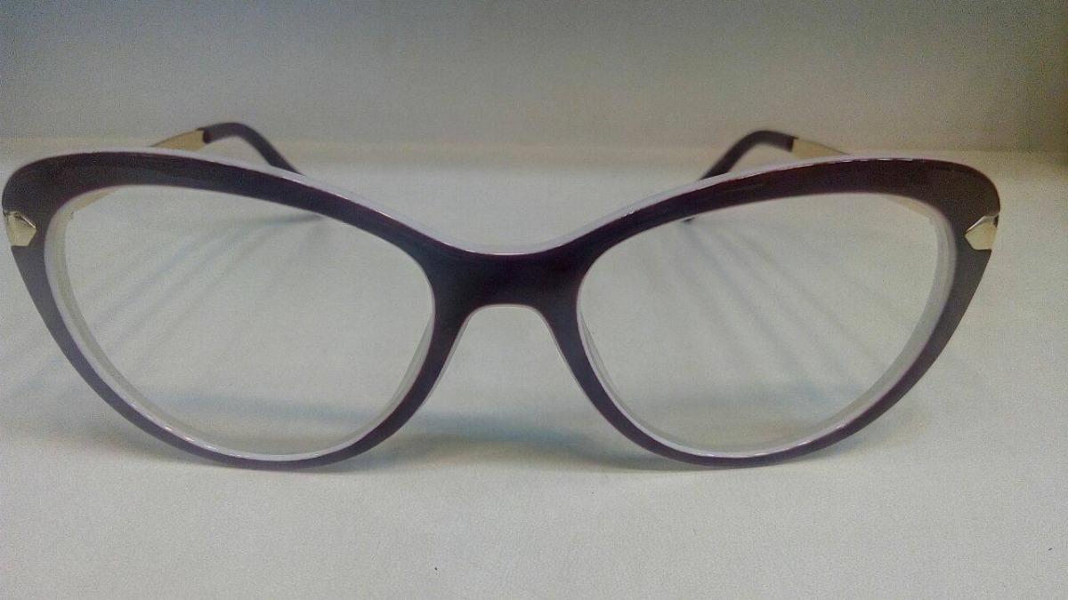 45c4d7c2987de Armação De Oculos Grau Feminino Quadrado Geek Metal + Brinde - R  56 ...
