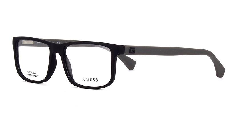 a16c1cf143305 Armação De Óculos Guess Gu1895 002 55-16 145 - R  389
