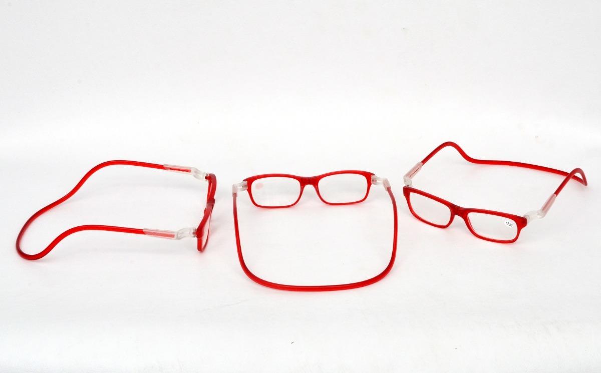 821347f29 armação de óculos imã magnético frontal vermelho. Carregando zoom.