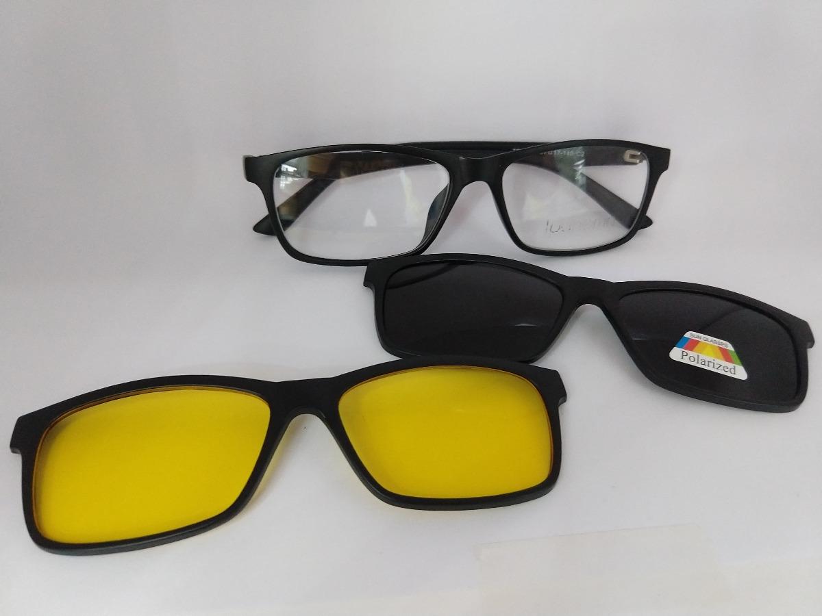armação de óculos ipanema clip on polarizado night driver. Carregando zoom. 1bd210a3a4